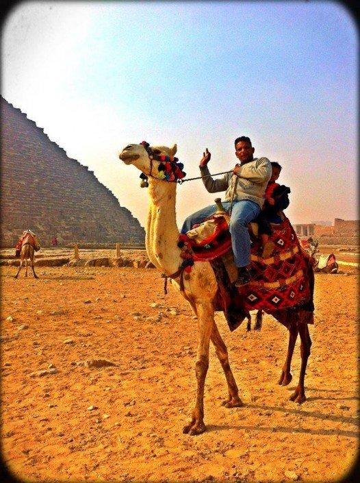 Sisters G Le Caire - Visite des Pyramides avant le Show ! 14