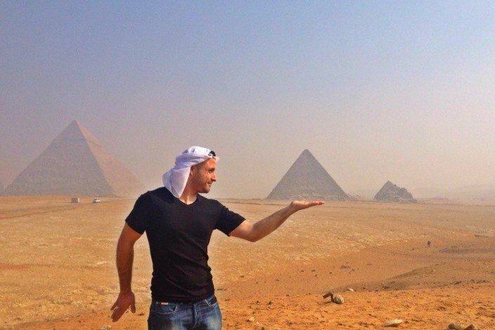 Sisters G Le Caire - Visite des Pyramides avant le Show ! 16
