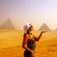 Sisters G Cairo - The Pyramids visit before the Show ! 18