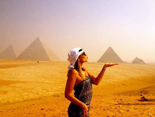 Sisters G Le Caire - Visite des Pyramides avant le Show ! 18