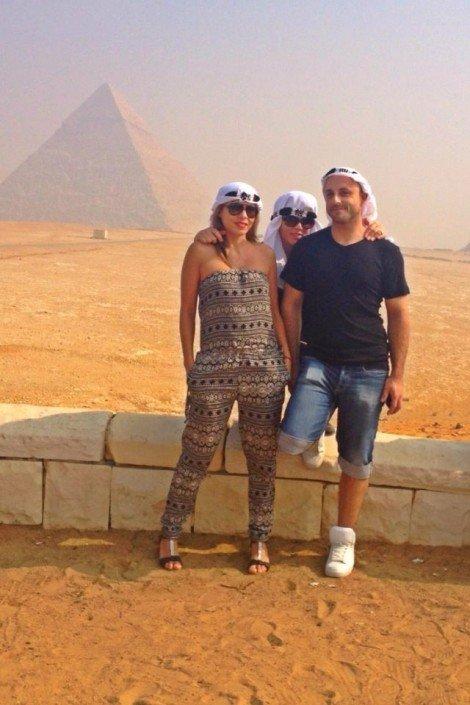 Sisters G Le Caire - Visite des Pyramides avant le Show ! 19
