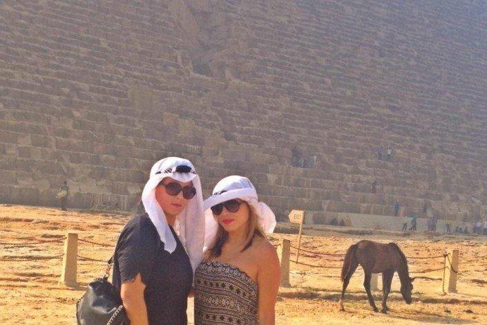 Sisters G Le Caire - Visite des Pyramides avant le Show ! 20