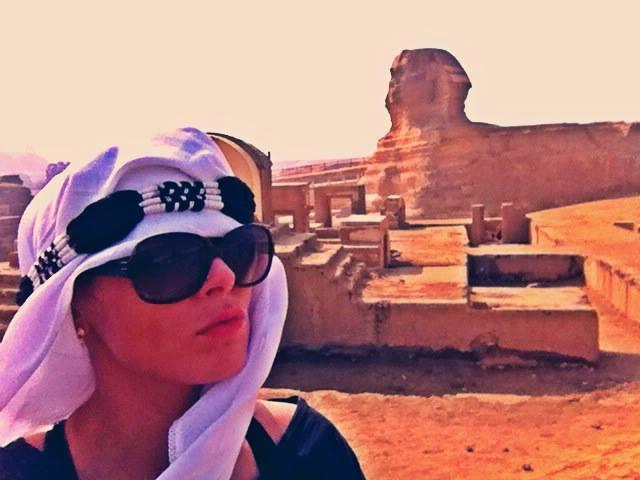 Sisters G Le Caire - Visite des Pyramides avant le Show ! 6