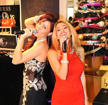 Sisters G Inauguration boutiques de luxe Galeries Lafayette Nice 11